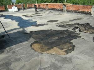 Ремонт мягкой кровли крыши дома
