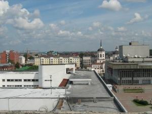 кровельное покрытие крыши здания