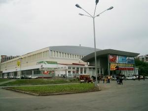 кровельное покрытие здания дворца спорта