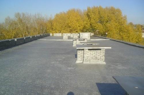 Ремонт мягкой кровли жилого дома, г.Кемерово, ул. Нахимова, 30