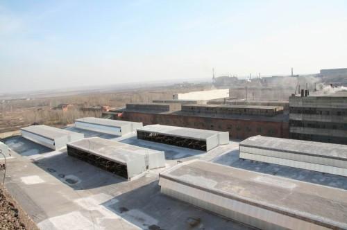 Реконструкция кровель Юргинского Ферросплавного завода, г.Юрга